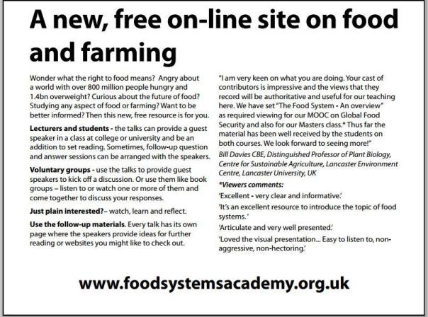 2food systems academy